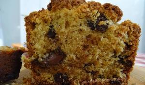 Cake chocolat noir et noix de coco