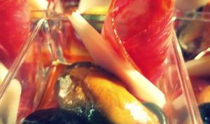 Verrines aux saveurs espagnoles