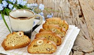 Cantucci à la farine de châtaignes et noisettes