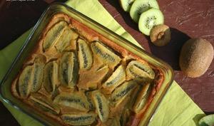 Clafoutis kiwis et gingembre un dessert épicé !