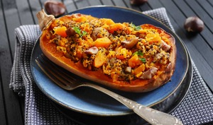 Butternut marrons et quinoa