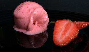 Sorbet minute fraise