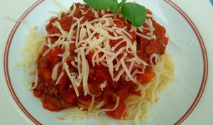 Les spaghettis bolognaise