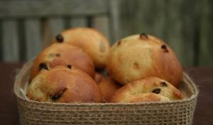 Briochettes aux raisins secs