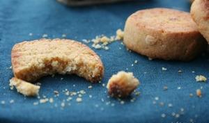 Biscuits de polenta à l'amande