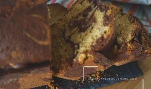Le cake marbré de chocolat de Jonathan Blot