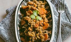 Poêlée de quinoa à la marocaine