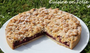 Ma non crostata aux fruits rouges