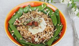 Salade de petit épeautre à l'italienne