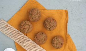 Muffins ricotta et farine de sarrasin