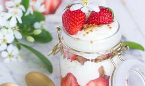 Tiramisu aux fraises et aux spéculoos