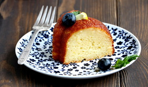 Le Bundt cake parfait citron et ricotta