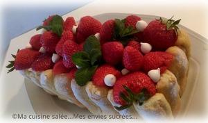 Tiramisu fraises VS Charlotte