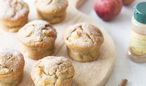 Muffins pommes cannelle