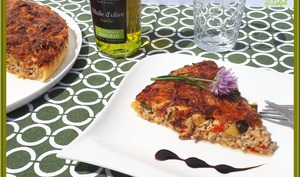 Tarte Provençale au boeuf haché