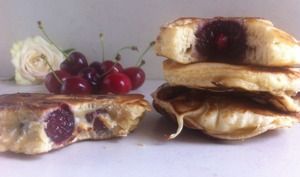 Crêpes alsaciennes aux cerises ou kerscha kierla