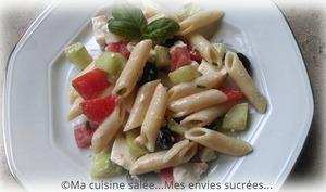 Salade de pâtes à la Grec