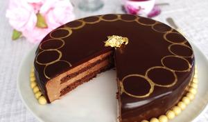 L'Entremets chocolat palet d'or de Thomas Keller