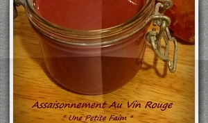Assaisonnement au vin rouge