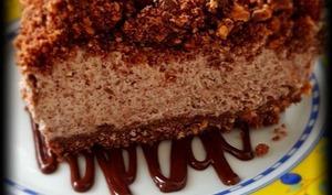 Cheesecake stracciatella sans cuisson