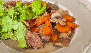Estouffade de veau aux légumes