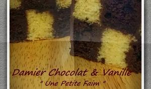 Damier chocolat et vanille