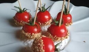 Les tomates d'amour au sésame