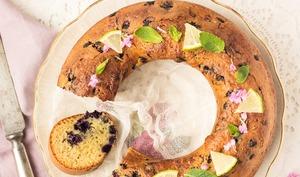 Cake aux myrtilles allégé sans beurre