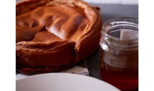 Gâteau improbable au miel: 3 ingrédients/ 2 textures