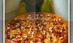 Tarte à la poire et mascarpone