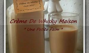 Crème de whisky maison