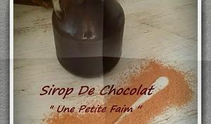 Sirop de chocolat
