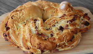 Kringle aux lardons