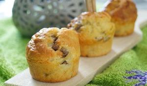 Mini cakes aux anchois et basilic