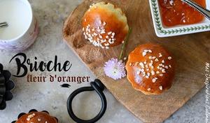 Briochettes à la fleur d'oranger et zeste de citron