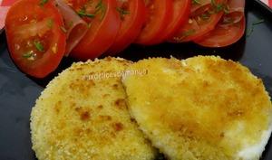 Croquettes de mozzarella panées