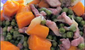 Paupiettes et ses légumes