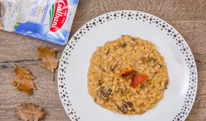Risotto gorgonzola et cèpes