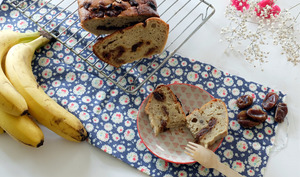 Banana bread aux dattes