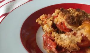 Crumble de tomates