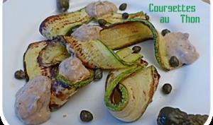 Courgettes au thon