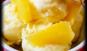 Sorbet à l'ananas