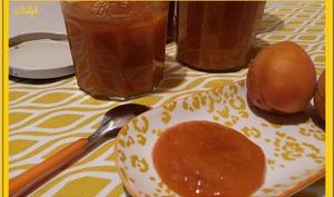 Purée d'abricots
