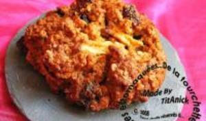 Biscuits aux Pommes, Fruits Secs et Flocons d'Avoine