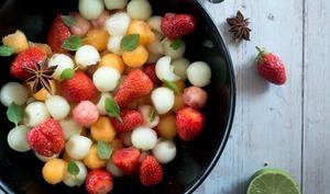 Suivez vos envies et composez votre salade de fruits