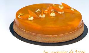 Tarte abricots pistache