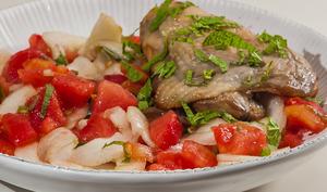Poulet en salade d'été