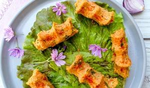 Cig kofte et petite salade, comme en Turquie