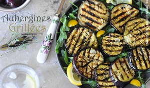 Aubergines grillées au four ou au BBQ
