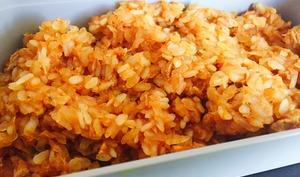 Riz de konjac au thon et aux épices